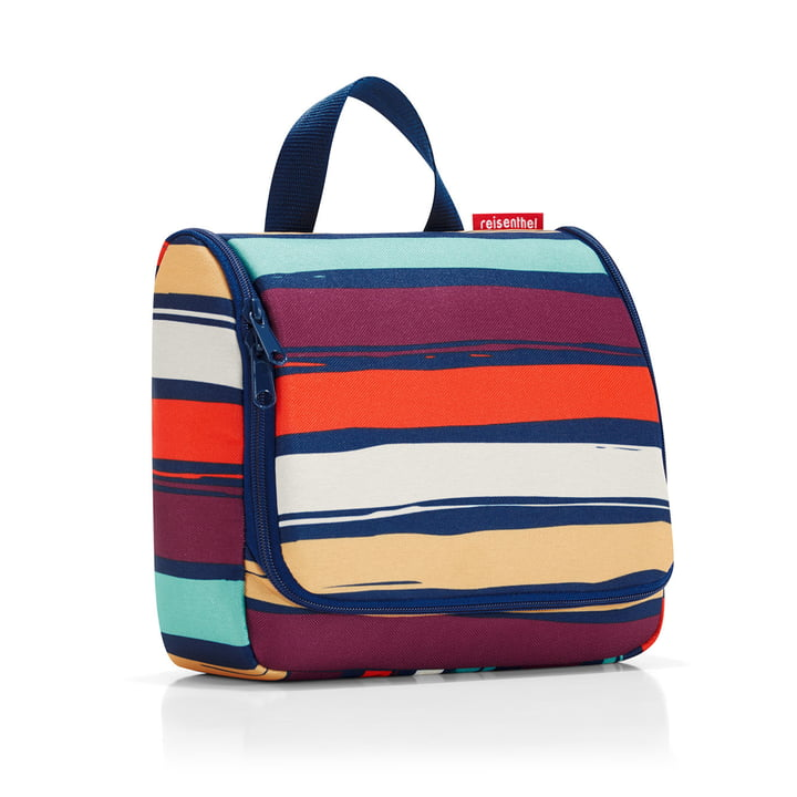 reisenthel - toiletbag, artist stripes
