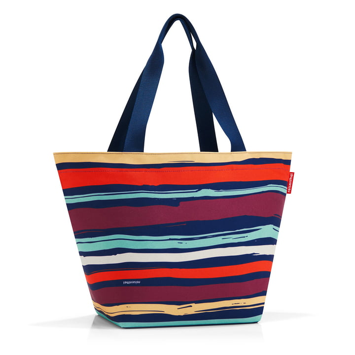 reisenthel - shopper M, artist stripes