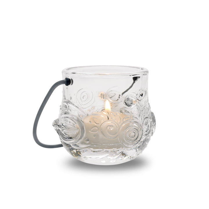 The Tea Light Holder Bird by Bjørn Wiinblad in Clear
