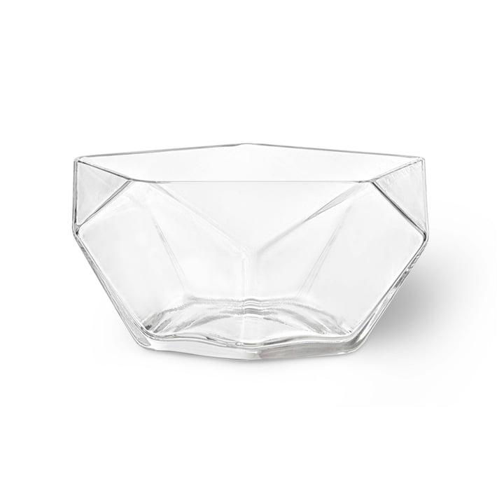 Glass Bowl Penta Ø 19 cm by Rosendahl