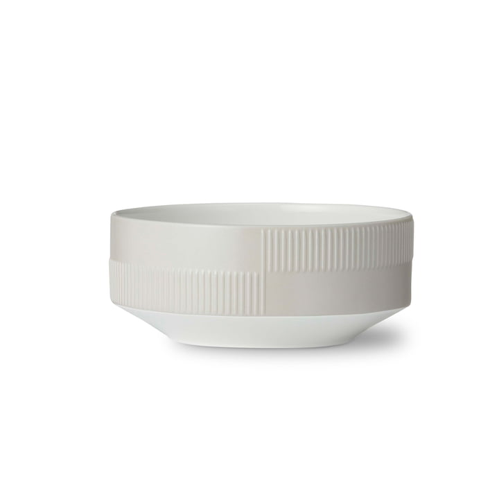 Duet Bowl Ø 13 cm by Rosendahl in Grey