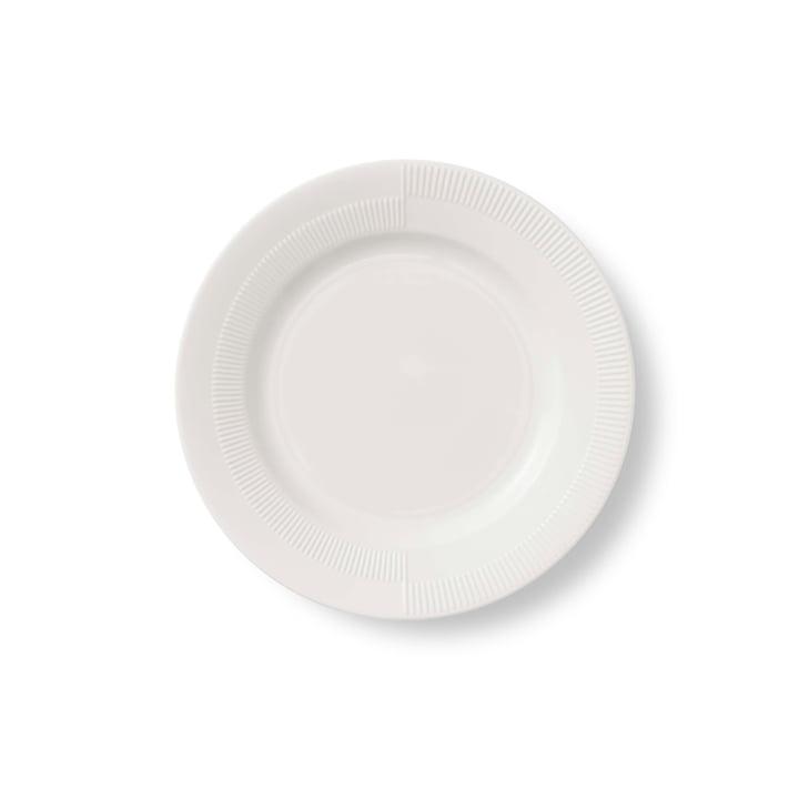 Duet Plate Ø 19 cm by Rosendahl in White