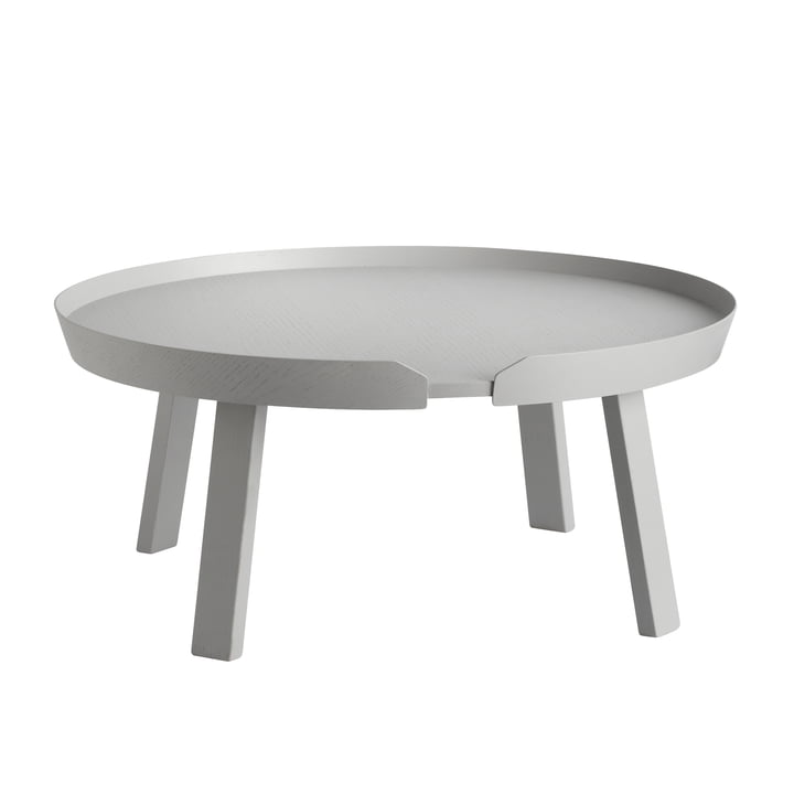 Muuto - Around couch table Ø 95 cm, grey