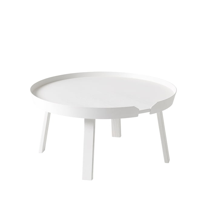 Muuto - Around couch table Ø 72 cm, white