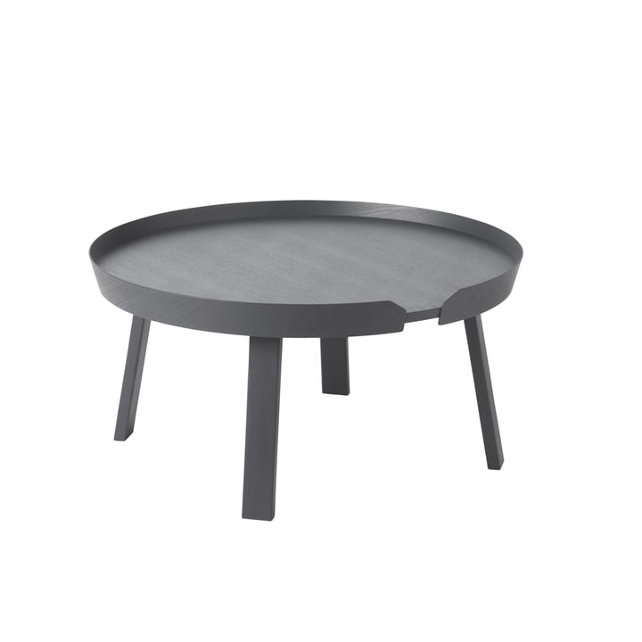 Muuto - Around couch table Ø 72 cm, anthracite