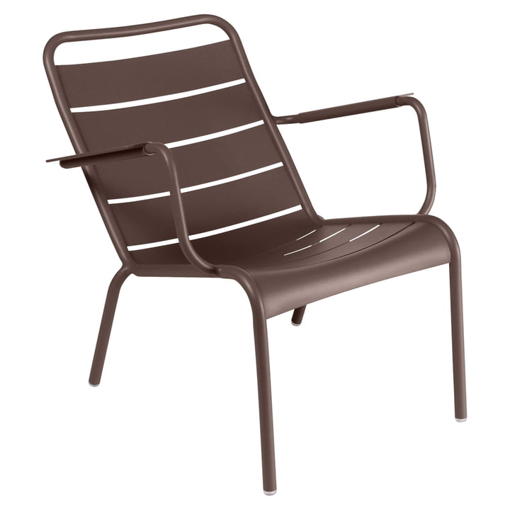 Luxembourg Deep armchair from Fermob in rust