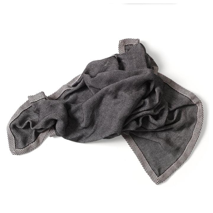 Ripple Throw by Muuto in Bluish Black