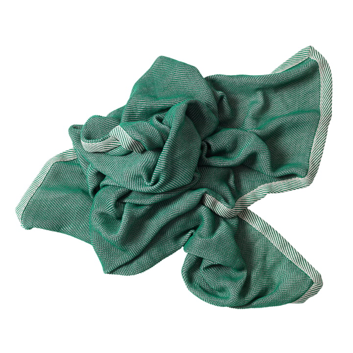 Ripple Throw by Muuto in Green