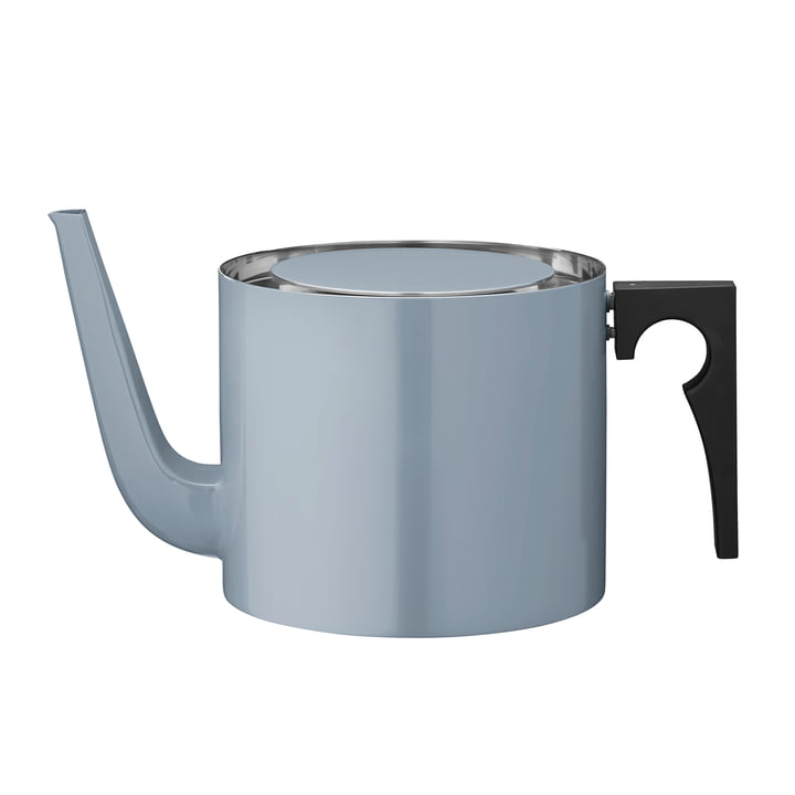 Stelton - Cylinda Line tea pot, 1.25 l,smokey blue (50th anniversary edition)