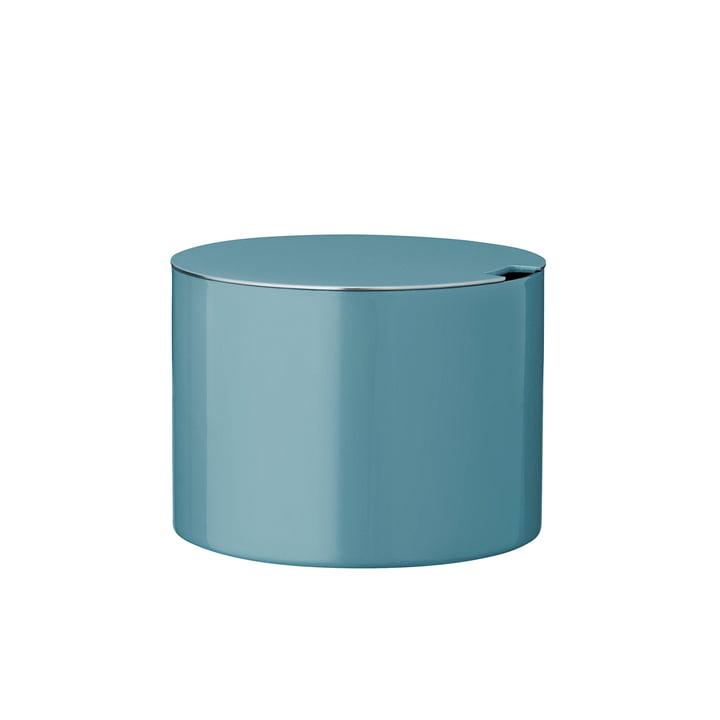 Stelton - Cylinda-Line sugar bowl, dusty teal (50th anniversary edition)