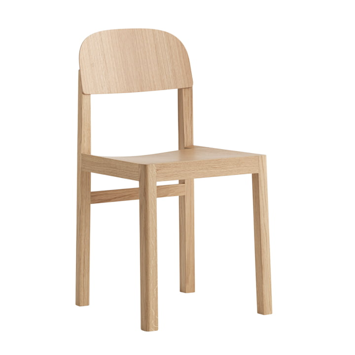 Workshop Chair by Muuto in Oak