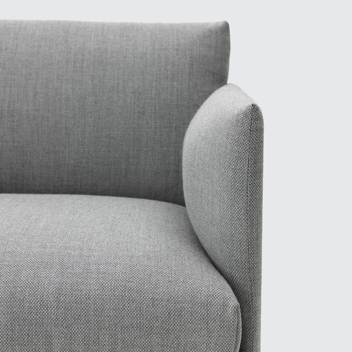 Muuto - Outline armchair, light grey