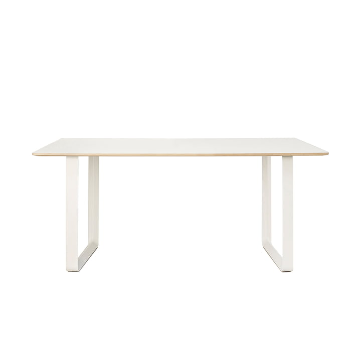 70/70 Dining table 170 x 85 cm from Muuto in white (laminate)