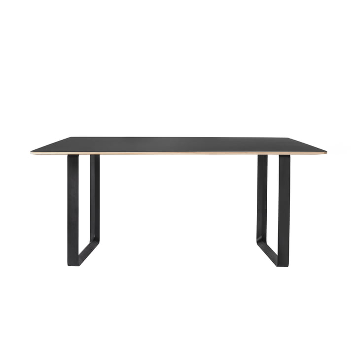 70/70 Dining Table 170 x 85 cm by Muuto in Black / Black