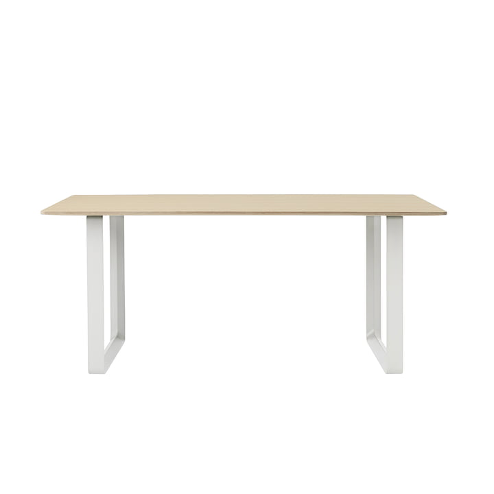 70/70 Dining Table 170 x 85 cm in Oak / White