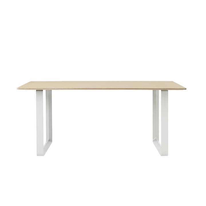 70/70 Dining Table 170 x 85 cm in Oak / White