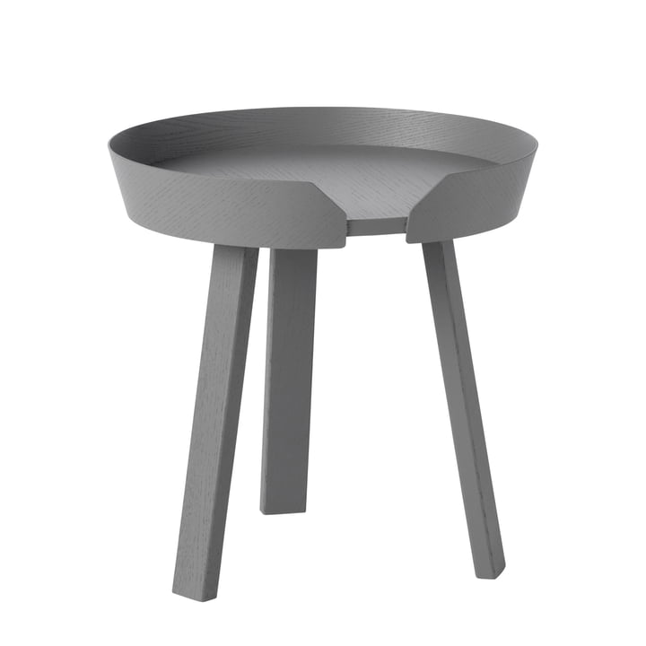Around Side table small from Muuto in anthracite