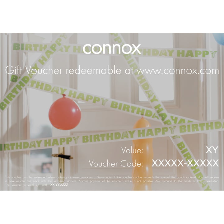 Gift voucher: Birthday