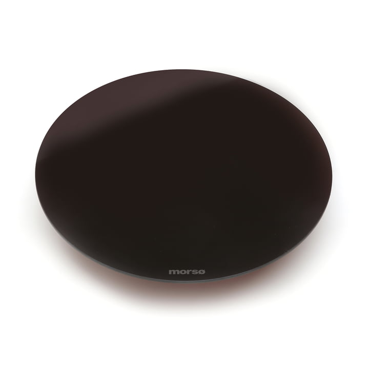 Vetro Pizza Plate by Morsø in Black