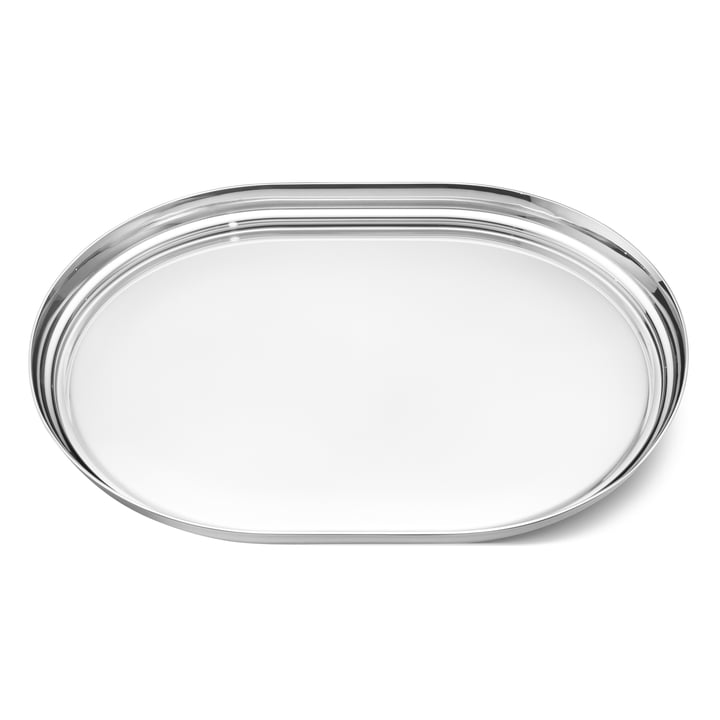 Manhattan Tray 40 x 30 cm by Georg Jensen out of Stainless steel