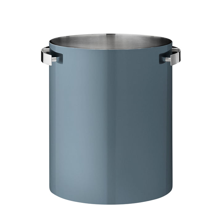 Champagne Cooler by Stelton in ocean blue (50th anniversary edition)