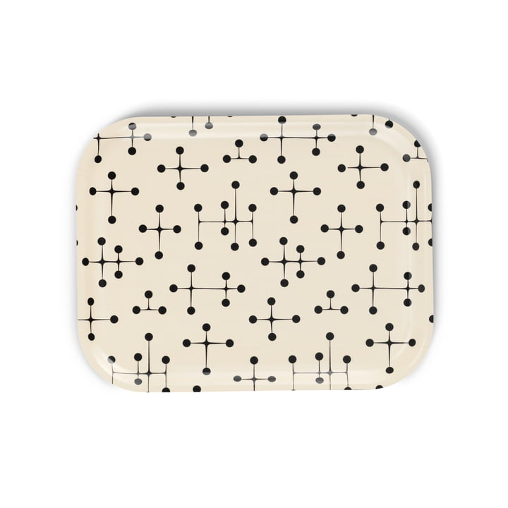 Classic Tray medium Dot Pattern light by Vitra