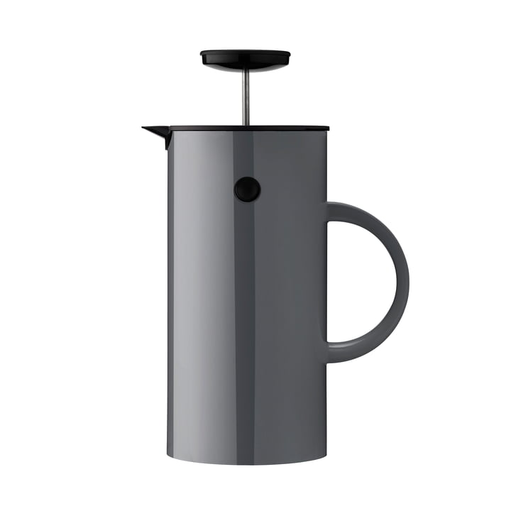 EM Pressfilter jug 1 l from Stelton in Anthracite