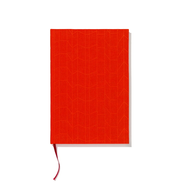 Hardcover notebook A4 by Vitra in tangerine / magenta