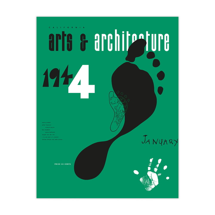 Eames Cover Print Jan 1944 by Vitra