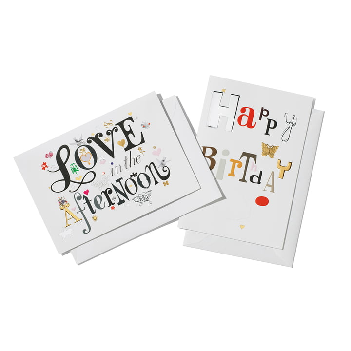 Love in the Afternoon and Happy Birthday by Vitra