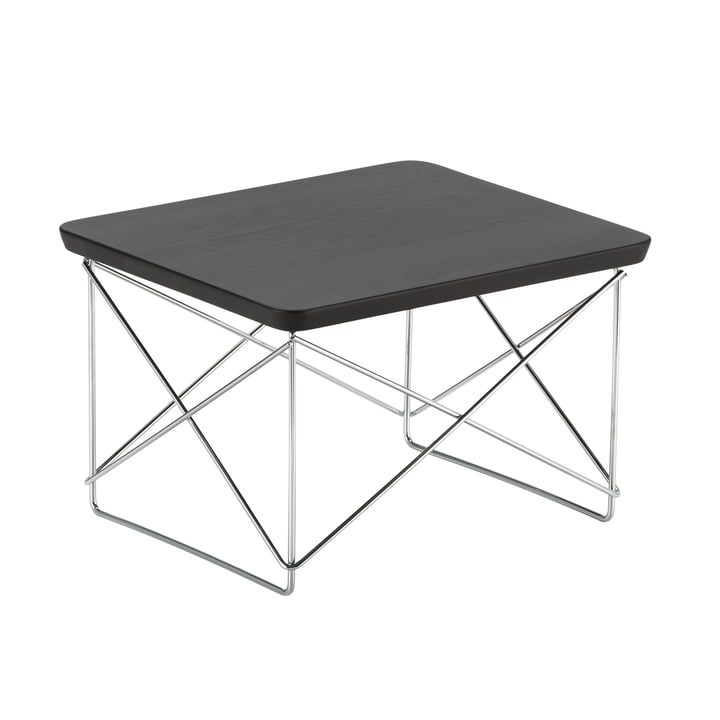 Eames Occasional Table LTR from Vitra smoked in oak / chrome