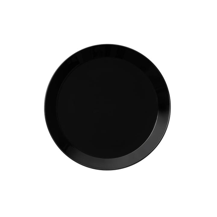 Teema Plate flat Ø 17 cm by Iittala in Black