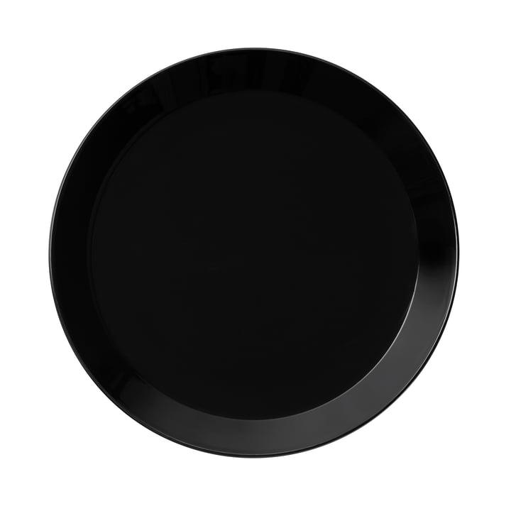 Teema Dining Plate Ø 26 cm by Iittala in Black