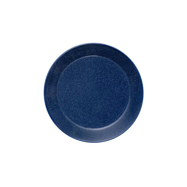 Teema Flat Plate Ø 17 cm by Iittala in Dotted Blue