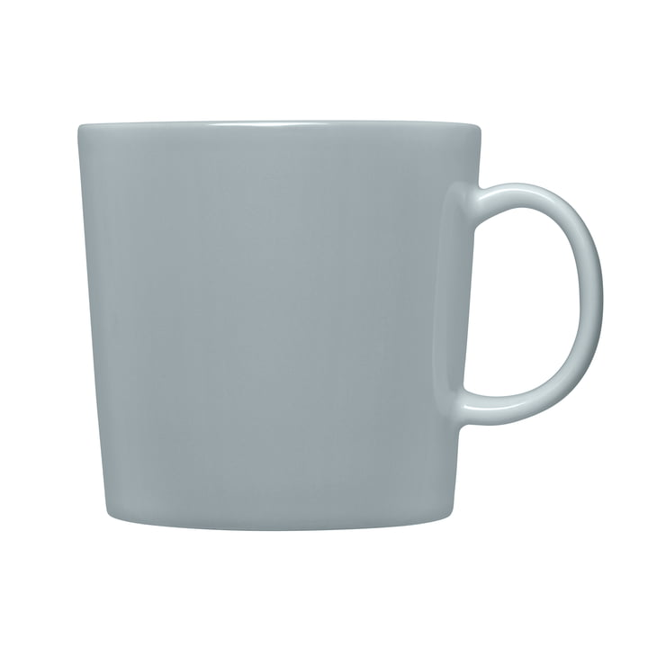 Teema Mug with Handle (high) 0.4 l by Iittala in Pearl Grey