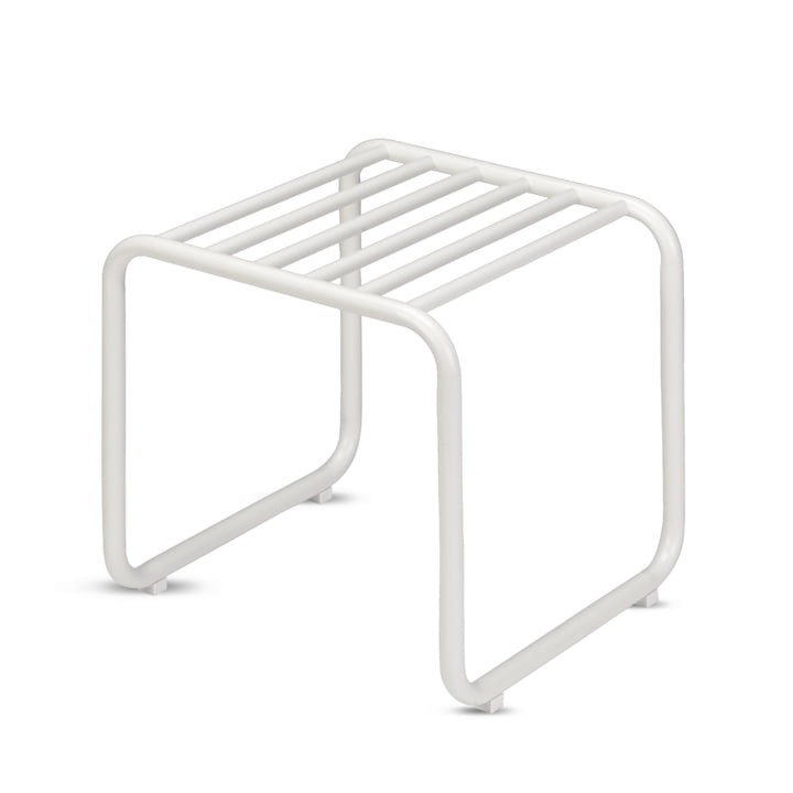 Fuori Stool by Skagerak in Silver White