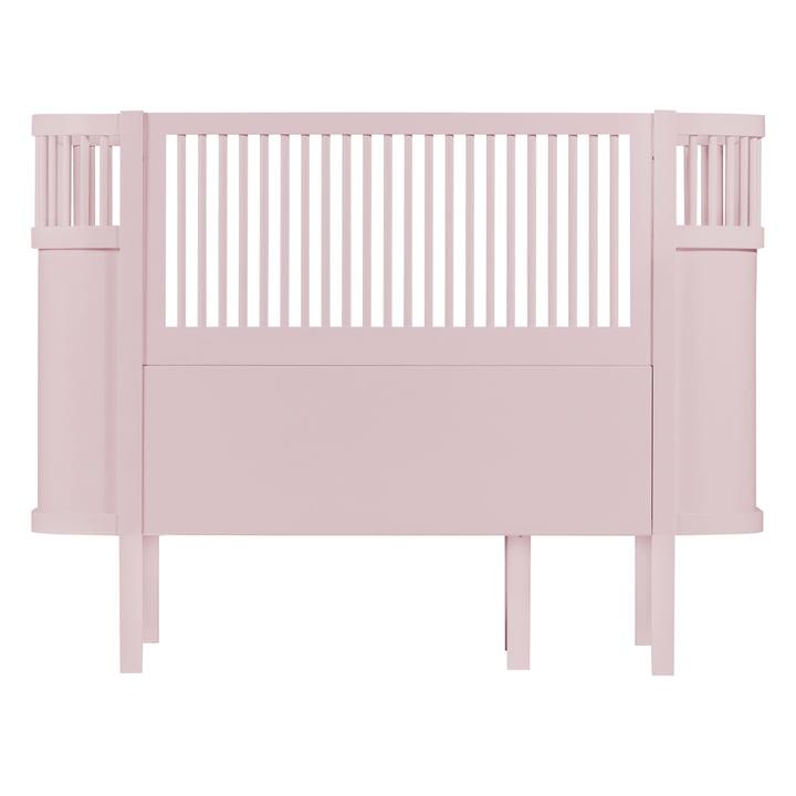 The Sebra Bed Baby & Junior in Dusky Pink