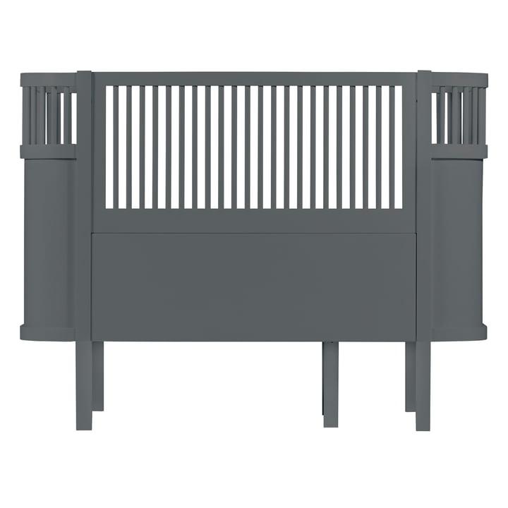 The Sebra Bed Baby & Junior in Dark Grey