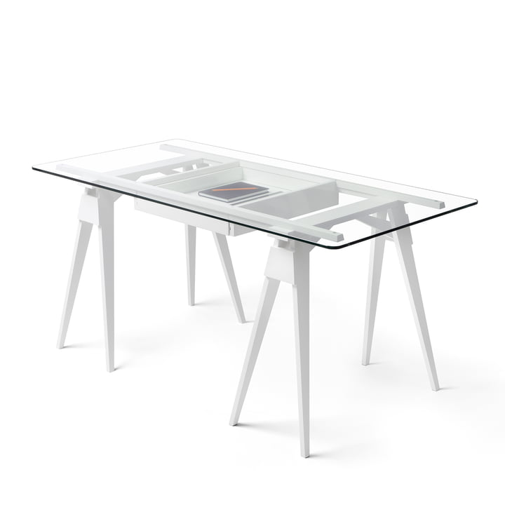 Design House Stockholm - Arco Desk - white
