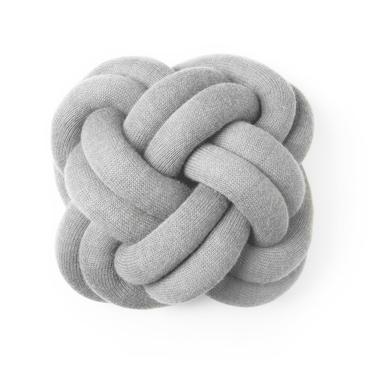 Design House Stockholm - Knot Cushion, light grey