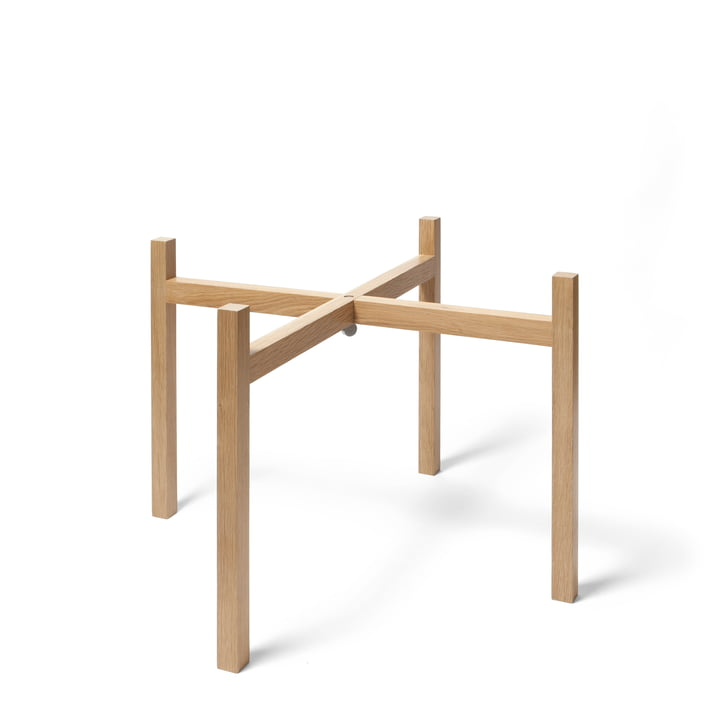 Design House Stockholm - Tablo Side Table, oak / H 40 cm