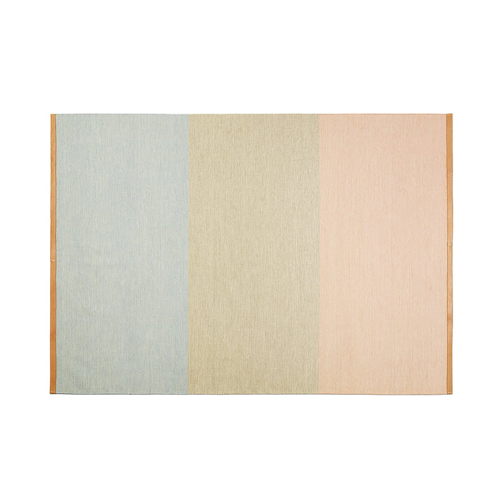 Design House Stockholm - Fields rug 170 x 240 cm, pink / brown / blue