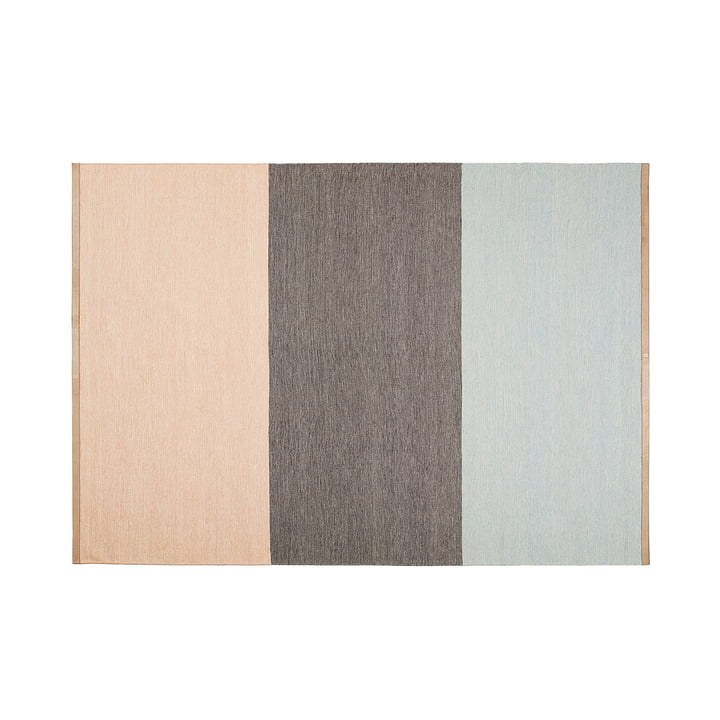 Design House Stockholm - Fields rug 170 x 240 cm, pink / beige / blue