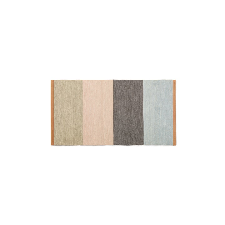 Design House Stockholm - Fields runner 70 x 130 cm, beige / pink / brown / blue