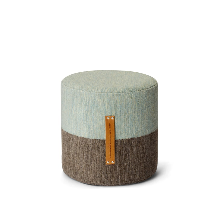 Design House Stockholm - Fields stool, brown / blue