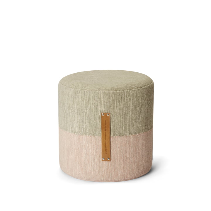 Design House Stockholm - Fields stool, bpink / beige