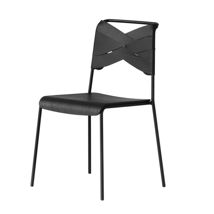 Torso Chair by Design House Stockholm in black