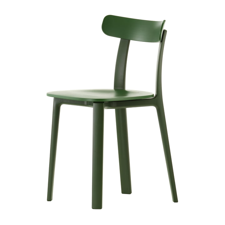 Vitra - All Plastic Chair, ivy