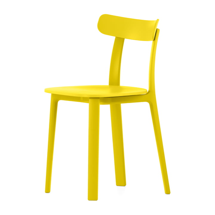 Vitra - All Plastic Chair, buttercup