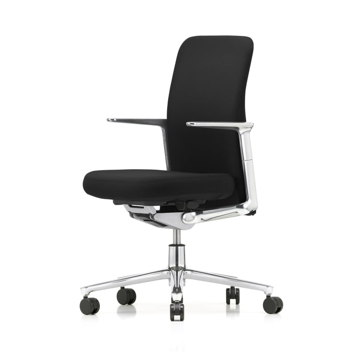 Pacific Chair by Vitra with Back in Black / Seat F30 Plano Nero